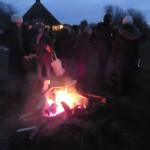 By the bonfire